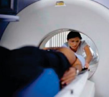Image: Older CT imaging systems had a 160 kg table weight allowance, 50 kw power, and a 70-cm bore (Photo courtesy of Siemens Healthcare).