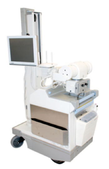 Image: Agfa HealthCare's DX-D Mobile Retrofit solution will allow hospitals an easy and affordable way to upgrade existing GE Healthcare's AMX 4 and 4 plus mobile X-ray systems to direct radiography (DR) (Photo courtesy of Agfa Healthcare).