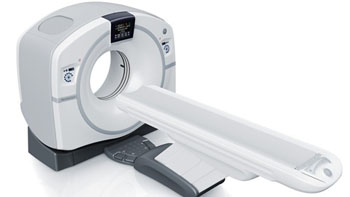 Image: GE Healthcare's Revolution EVO CT system (Photo courtesy of GE Healthcare).
