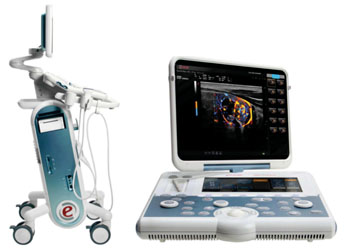 Image: The Gamma Six ultrasound system (Photo courtesy of Esaote).