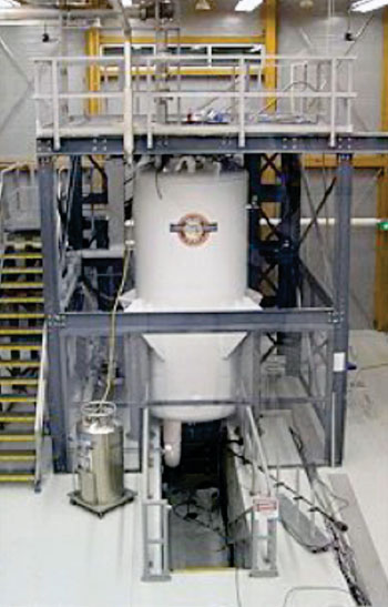Image: MagLab's 900 MHz magnet (Photo courtesy of FSU – Florida State University).