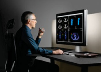 Image: The Coronis Uniti diagnostic image display supports PACS and breast imaging in color and grayscale (Photo courtesy of Barco).