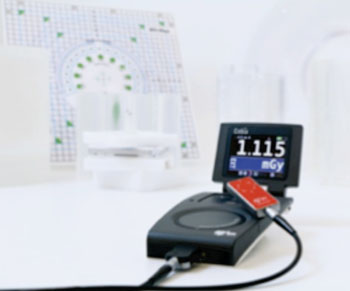 Image: The Cobia Sense X-ray QA meter (Photo courtesy of RTI Electronics).