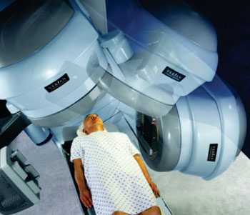 Image: The RapiArc VMAT radiosurgery system (Photo courtesy of Varian Medical Systems).