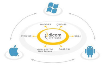 Image: The DCMSYS Interface WebBridge is designed to connect to DCMSYS product range to access all the patient data, search studies, link data to the appropriate study and store, modify, share, and connect to any repository (Photo courtesy of Dicom Systems).