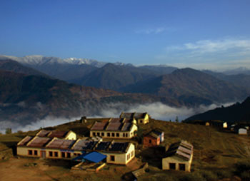 Image: Bayalpata Hospital in Rural Nepal (Photo courtesy of Nyaya Health Blog).