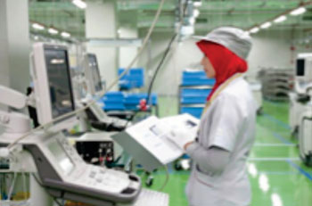 Image: Toshiba's new medical imaging systems plant in Penang, Malaysia (Photo courtesy of Toshiba).
