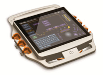 Image: Carestream\'s DRX-Evolution Plus Image Touch Control Screen (Photo courtesy of Carestream).