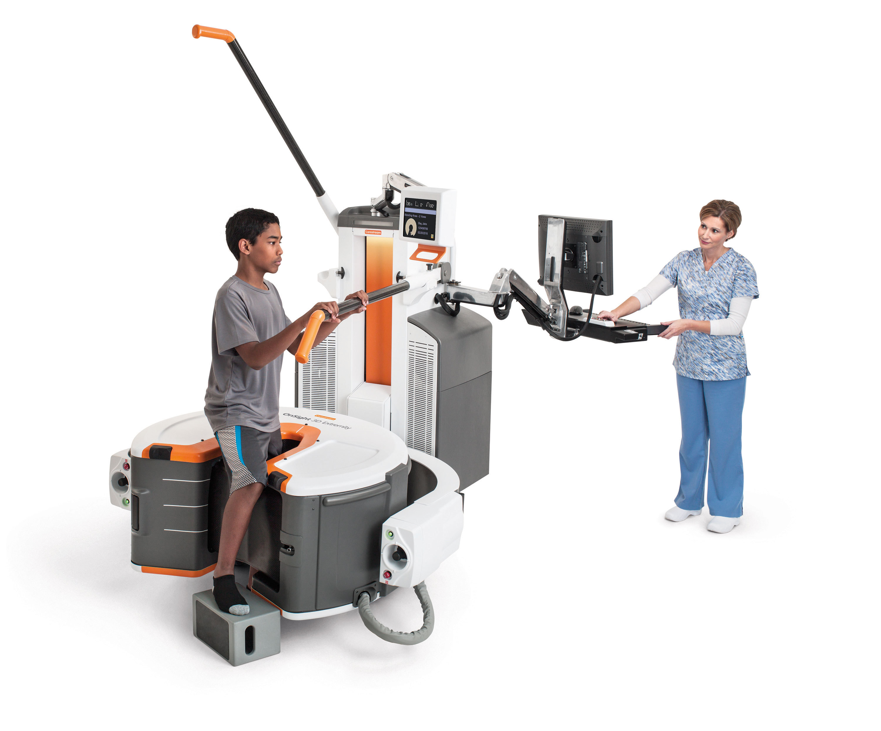 Image: Carestream New Cone Beam 3-D Orthopedic CT Imaging System (Photo courtesy of Carestream).
