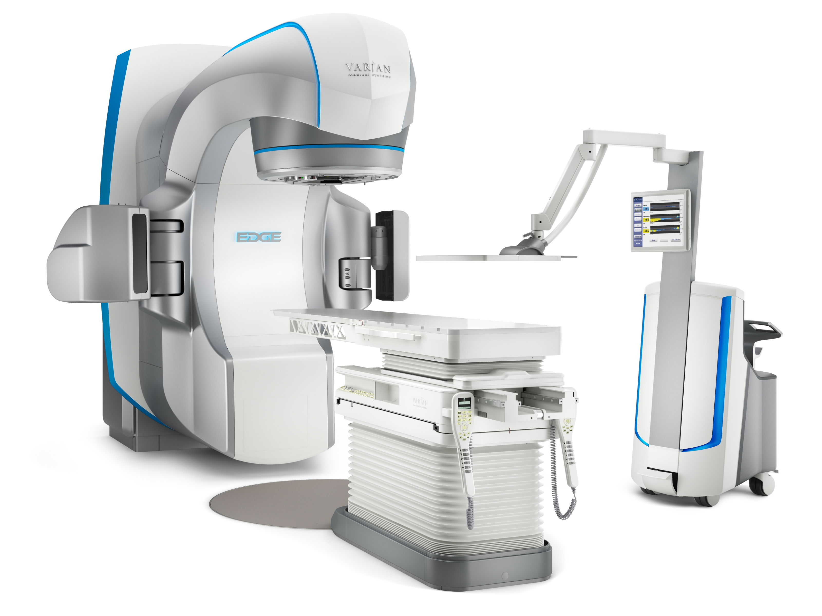 Image: The EDGE Radiosurgery Suite (Photo courtesy of Varian Medical).