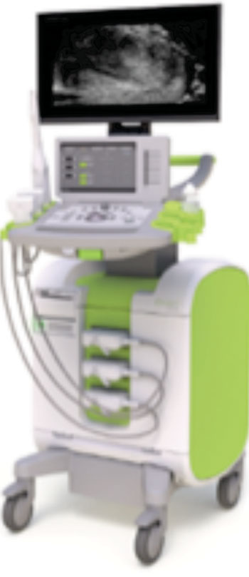 Image: World's first 29 MHz micro-ultrasound system (Photo courtesy of Exact Imaging).