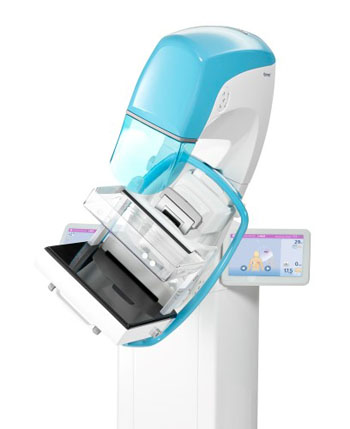 Image: The Clarity 3D DBT system (Photo courtesy of Planmed).